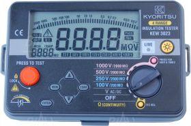 KEW3023 Miernik rezyst. izolacji 100V-1000V Kyoritsu
