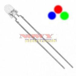 Dioda LED 3mm RGB 2nogi szybko zmieniająca kolory