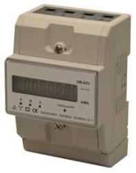 MIER-ORN03Y Licznik energii elektrycznej - trójfazowy, na szynę TH35, szerokość modułu: 78mm